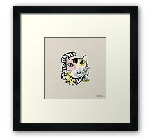 tiger, tiger… Framed Print