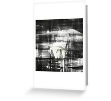 Outer body Experience Greeting Card