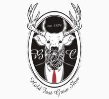 Deer Beard Suit BLK One Piece - Short Sleeve