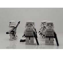 Off to find the Force. Photographic Print