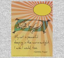 Cat Nap Haiku Kids Tee