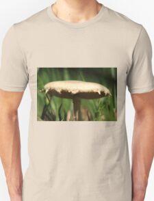 Wild Mushroom extremely close up. Unisex T-Shirt