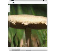 Wild Mushroom extremely close up. iPad Case/Skin