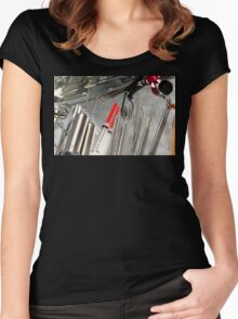 Medical Utensils Women's Fitted Scoop T-Shirt