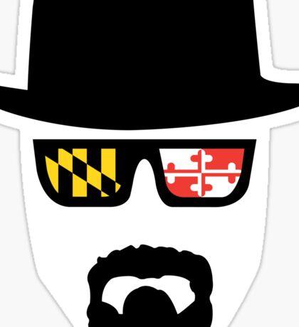 Maryland Heisenberg Sticker
