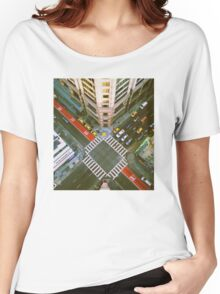 Union Square Intersection Women's Relaxed Fit T-Shirt