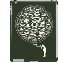 Seeing through the screen iPad Case/Skin