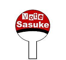 Vote Sasuke Photographic Print
