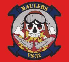 VS 32 Maulers Crest Kids Tee