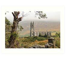 Ruins of Dunlewy Church, Donegal Art Print