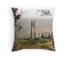 Ruins of Dunlewy Church, Donegal Throw Pillow