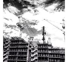Construction Photographic Print