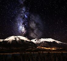 Buffalo Milky Way by Paul Gana