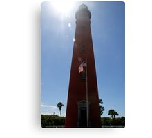 Sun Shines on Ponce de Leon Inlet Lighthouse Canvas Print