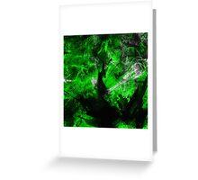 Emerald Blast Greeting Card
