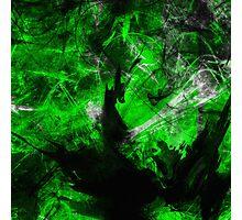 Emerald Blast Photographic Print