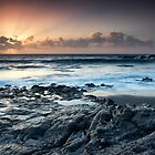 Sunset on the Rocks by Kasia-D