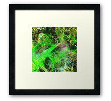 Neon Galaxy Framed Print