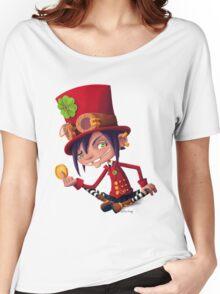 Steampunk Leprechaun Women's Relaxed Fit T-Shirt