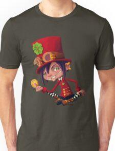 Steampunk Leprechaun Unisex T-Shirt