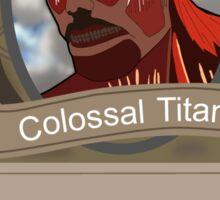 Attack on Titan Hearthstone Sticker