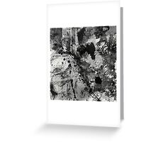 Lost In Contrast Greeting Card