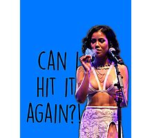 Can I Hit It Again?! Photographic Print