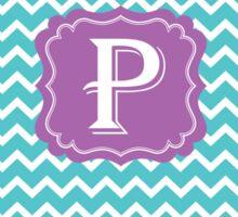 P Turquoise Sticker