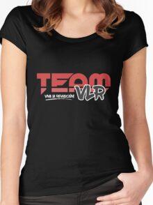 TeamVLR Logo Transparent Women's Fitted Scoop T-Shirt