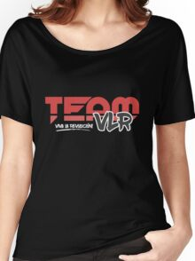TeamVLR Logo Transparent Women's Relaxed Fit T-Shirt