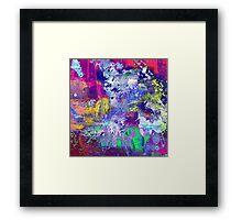 Rainbow Anguish Framed Print