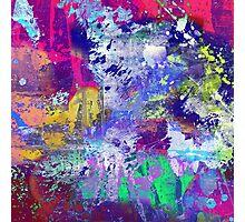 Rainbow Anguish Photographic Print