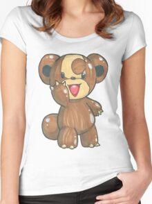 NO PROFIT Teddiursa Women's Fitted Scoop T-Shirt