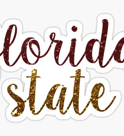 Florida State University Sticker