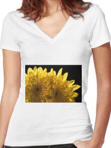 Shining Through Women's Fitted V-Neck T-Shirt