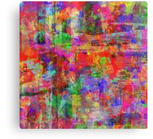 Vibrant Chaos Canvas Print