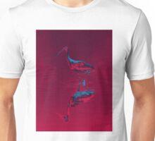 Spoonbill Abstract Unisex T-Shirt