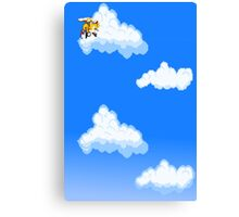 Tails in the sky Canvas Print