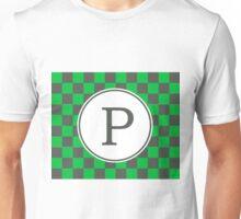 P Checkard Unisex T-Shirt