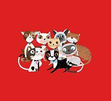 Cartoon Pets So Many Cats Cat Lover Mens V-Neck T-Shirt