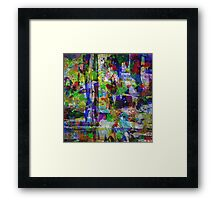 Circus Of Colour Framed Print
