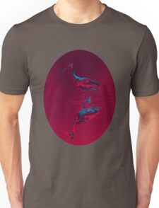 Spoonbill Abstract Decor Unisex T-Shirt
