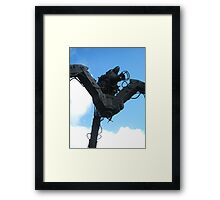 Robotic Camera Framed Print