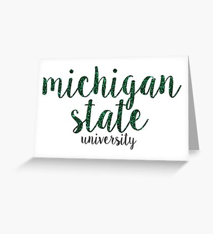 Michigan State University Greeting Card