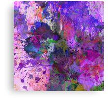 Lilac Chaos Canvas Print