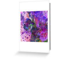 Lilac Chaos Greeting Card