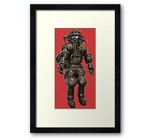 Early Deep Sea Diver Suit Framed Print