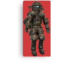 Early Deep Sea Diver Suit Canvas Print