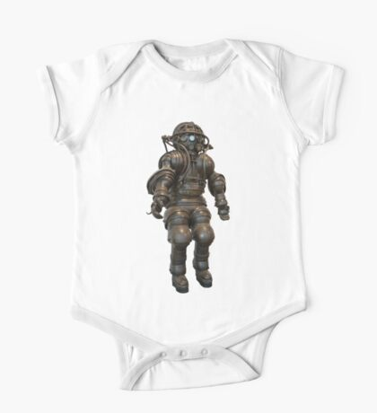 Early Deep Sea Diver Suit One Piece - Short Sleeve