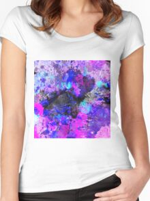 Blue Velocity Women's Fitted Scoop T-Shirt